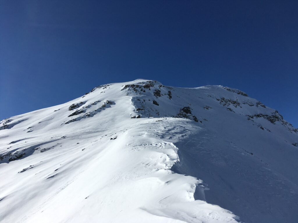 Monte Confinale - cresta